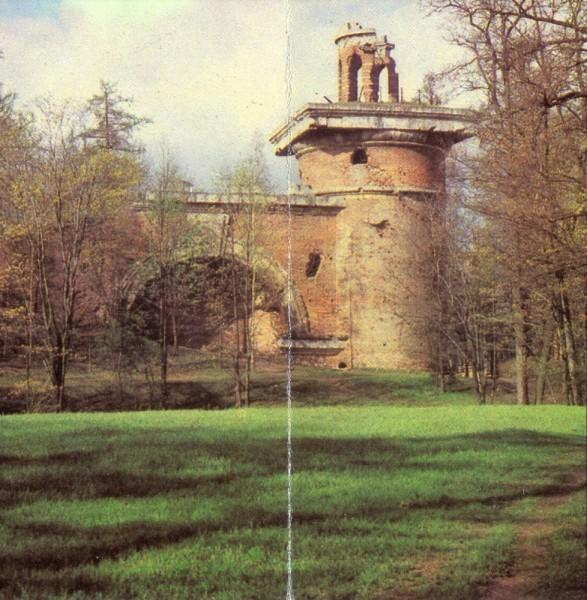 Башня руина