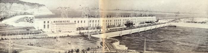Здание гидроэлектростанции