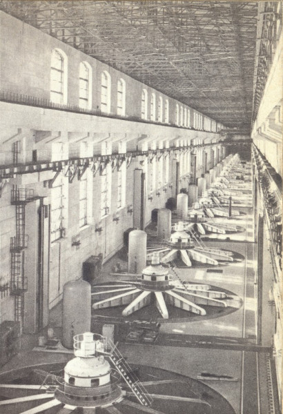 Машинный зал ГЭС