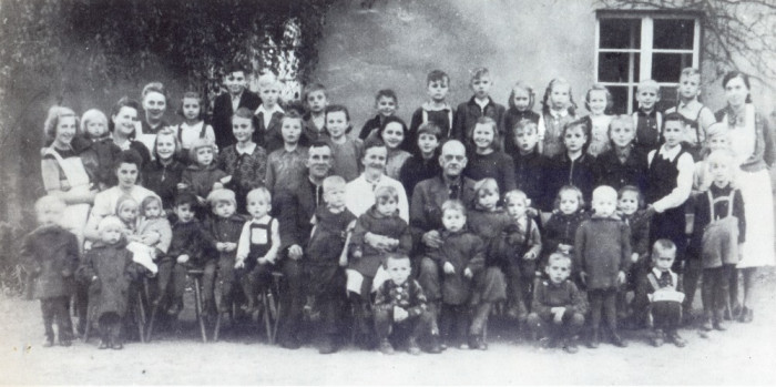 Спасенные немецкие дети