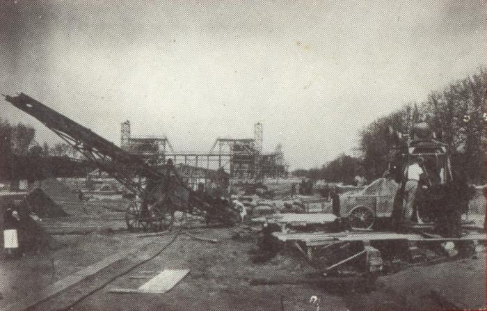 Строительство памятника