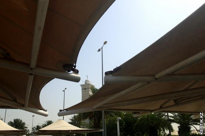 Стоянка аэропорта Дубаи