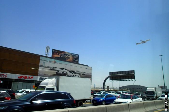 Пробки Дубаи