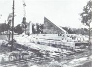 Трептов-парк Строительство