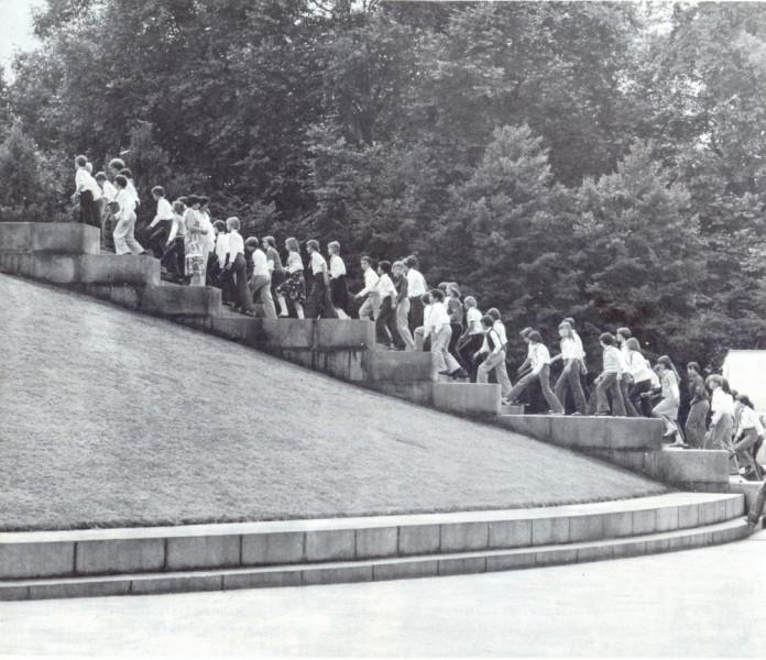 Моложежь в Трептов парке