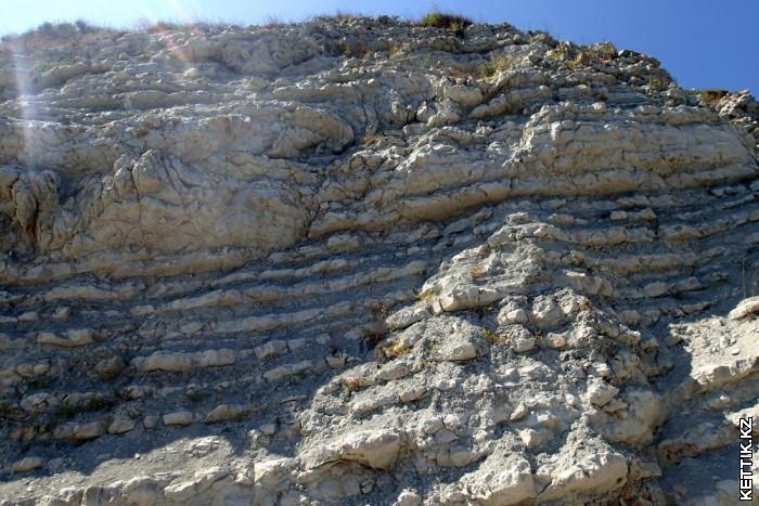 Белые скалы Выветривание
