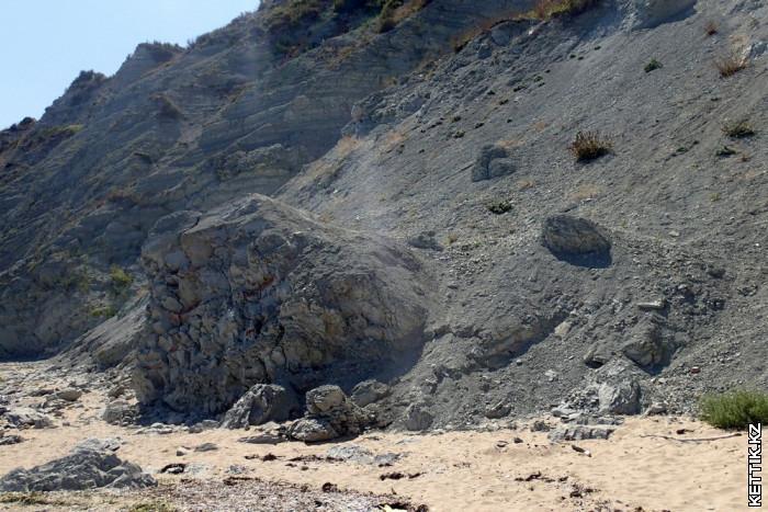Белые скалы Геология