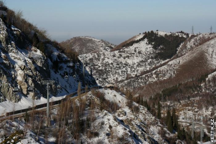Канатная дорога на Чимбулак
