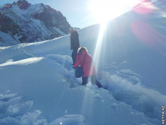 Глубокий снег