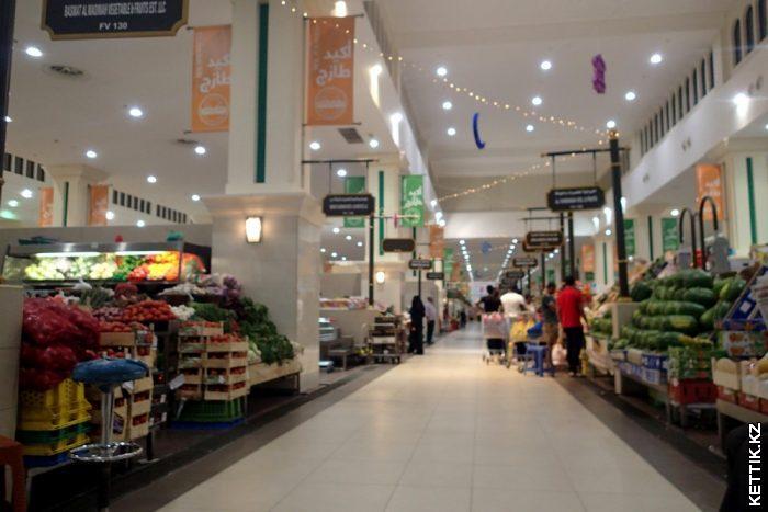 Овощной рынок Шарджи