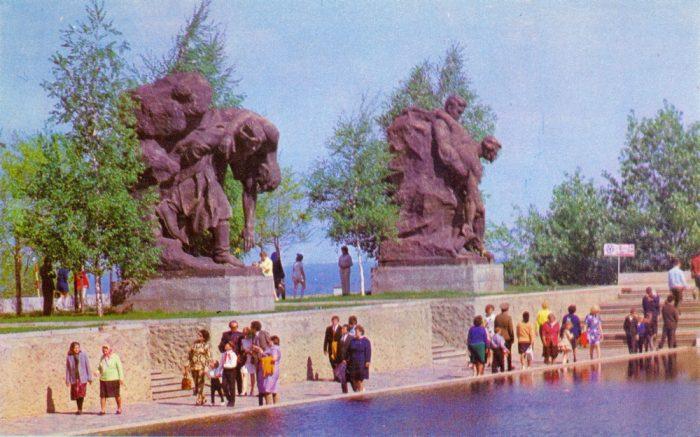 Площадь героев. Фрагмент
